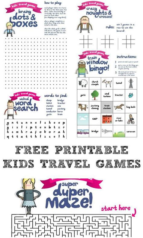 printable games to play on paper kids travel games paper games for kids and games for kids
