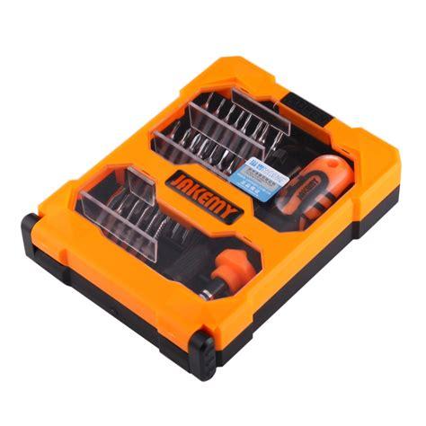 Jakemy 34 In 1 Obeng Set Jm 8159 jakemy jm 8159 34 in 1 professional precision multi functional screwdriver set alex nld