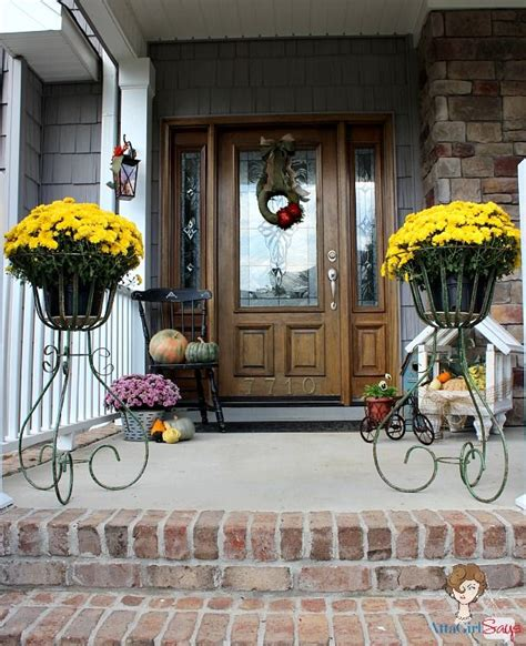 front porch decorating ideas for fall simple fall decorating ideas for the front porch