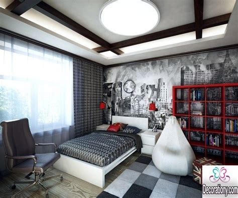 Ideas For Decorating A Boy S Bedroom Walls 30 Cool Boys Room Paint Ideas Bedroom