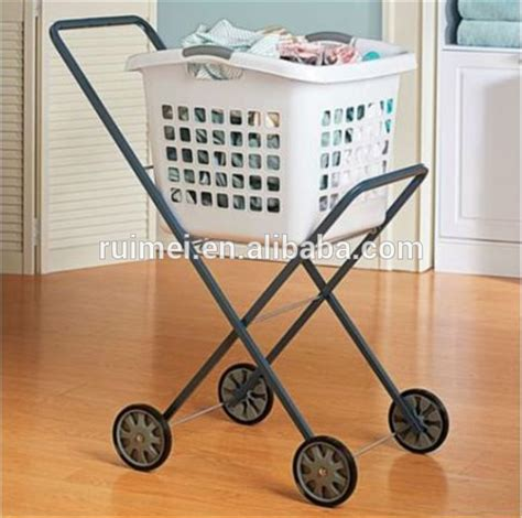 laundry trolley design the amazing laundry basket cart intended for home