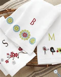 kitchen towel embroidery designs have mom use embroidery machine to make some of these