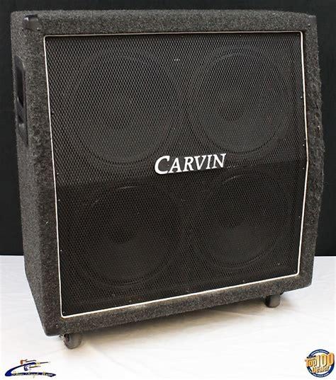 carvin v412 4x12 guitar lifier speaker cabinet works