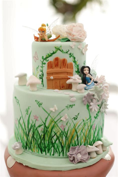 Fairy Garden Birthday Party Garden Birthday Cakes Ideas