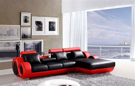 red and black leather couches black and red leather sofa set red and black leather sofa