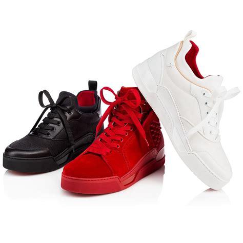 Christian Louboutin Sneakers For by Christian Louboutin Aurelien Flat Black Flamenco Fabric Shoes Modesens