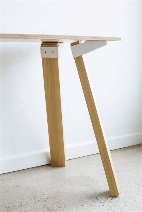 easy diy table legs simple versatile bracket system to build tables design