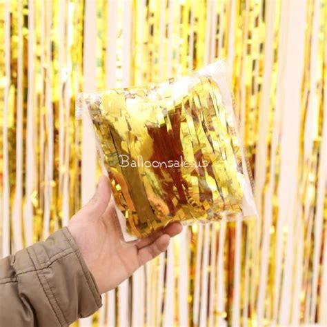 metallic gold fringe curtain best metallic gold foil fringe curtain door or window