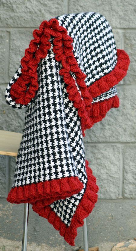 houndstooth knit pattern easy free knitting patterns for baby blankets knitted