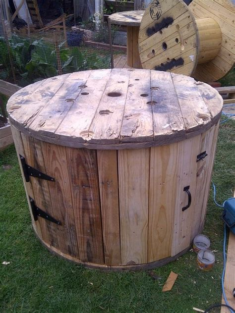 buy duck house diy cable spool duck house home design garden architecture blog magazine