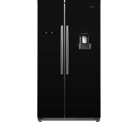 American Style Fridge Freezer No Plumbing Required by Buy Kenwood Ksbsdb17 American Style Fridge Freezer Black