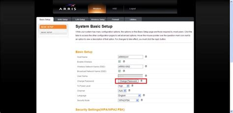 reset wifi location how to secure your arris modem hargray communications