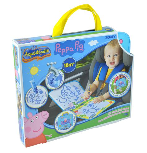 aquadoodle travel t72368 tomy peppa pig doodle bag aquadoodle travel
