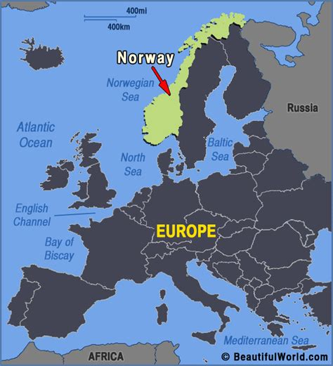 norway europe map of norway facts information beautiful world