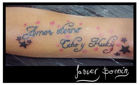 imagenes de tatuajes de frases im 225 genes de tatuajes con frases de amor