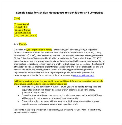 sponsorship letter templates 40 free sample example
