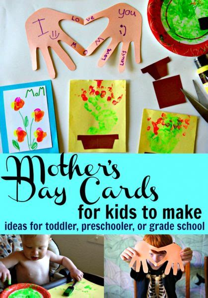 day cards for preschoolers to make mother s day cards for to make ideas for any age
