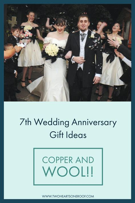 7th wedding anniversary ideas 7th wedding anniversary gift ideas wool and copper gift