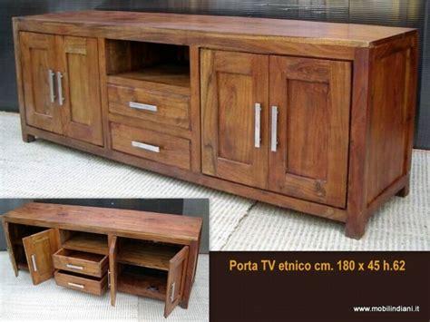 mobili porta tv roma foto portatv indiano cm 180 di mobili etnici 113766
