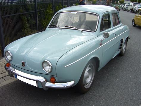 renault dauphine renault dauphine 1956 1968 die dauphine war auch in