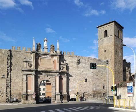 viterbo porta romana da porta romana a piazza plebiscito visit viterbo
