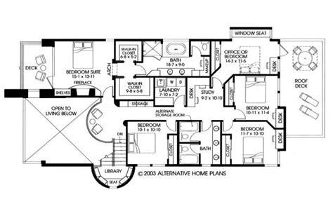 alternative home plans residential house plans 4 bedrooms slab house floor plans