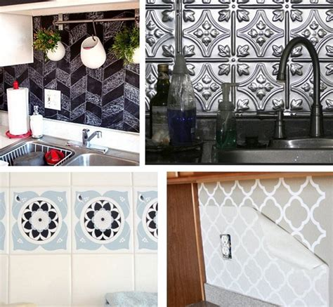 removable backsplash for renters solutions for renters kitchens centsational