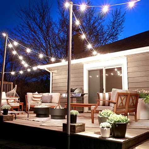 Patio Lights String Ideas - 15 creative outdoor string lighting ideas for your