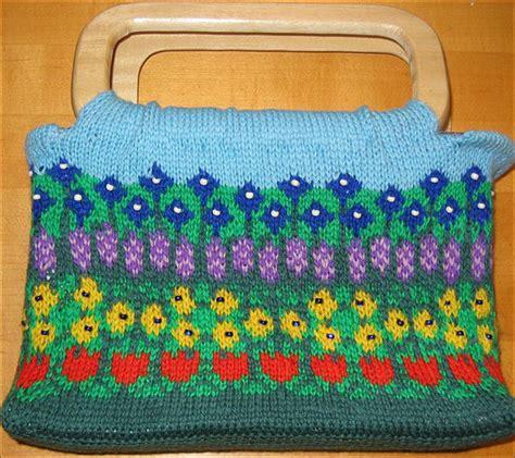 Pouch Organizer Travel Bag Versi 2 Flower Dks stranded knitting it s easier than you think knitting patterns from knitpicks