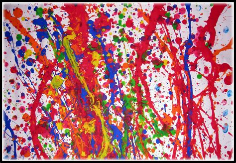painting work positively pollock the classy crafter