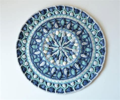 mandala pattern youtube dandelion mandala overlay crochet crochet patterns