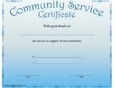 community service hours certificate template 1000 images about volunteer misc on volunteer