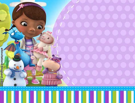 imagenes de juguetes originales tarjetas de invitacion cumplea 241 os doctora juguetes para