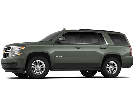 2019 Chevrolet Tahoe by New Deepwood Green Metallic Color For 2019 Chevy Tahoe