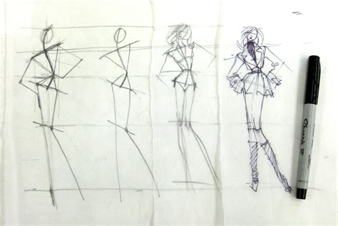 the 30 second fashion sketch justine limpus parish s blog