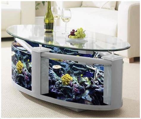 Tisch Mit Aquarium by Fish Tank Tables They Hold Alive Tranquility