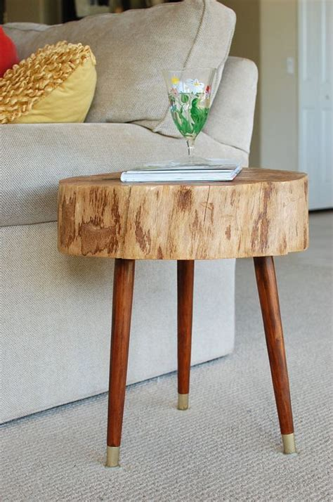 tree slice coffee table tree stump furniture mid century coffee table large tree