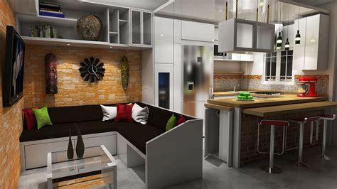diseno sala cocinacomedor salas recibidores de estilo
