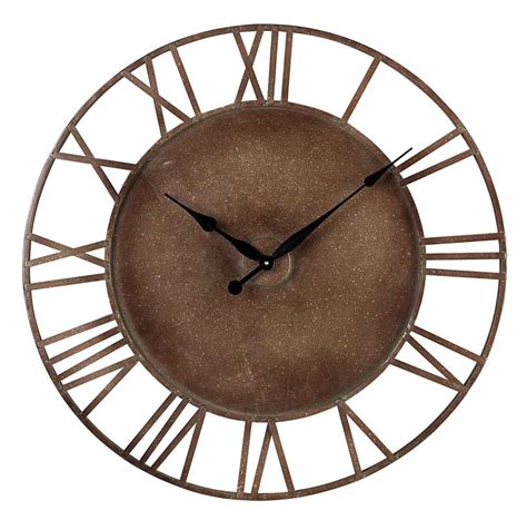 bronson indoor outdoor wall clock 32 quot by sterling