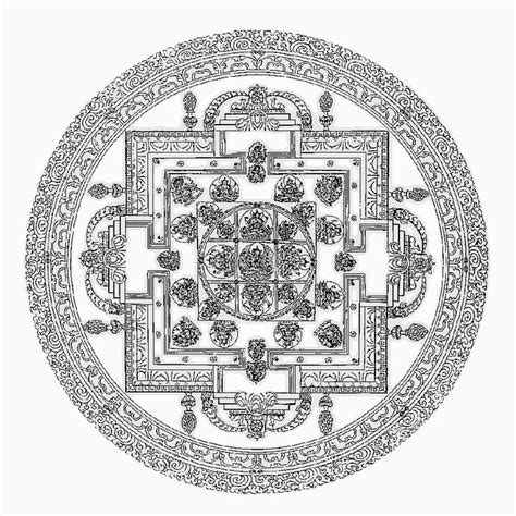 hindu mandala coloring pages 78 best images about mandala on drawings