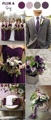 colors for weddings the 10 fall wedding color combos to in 2017