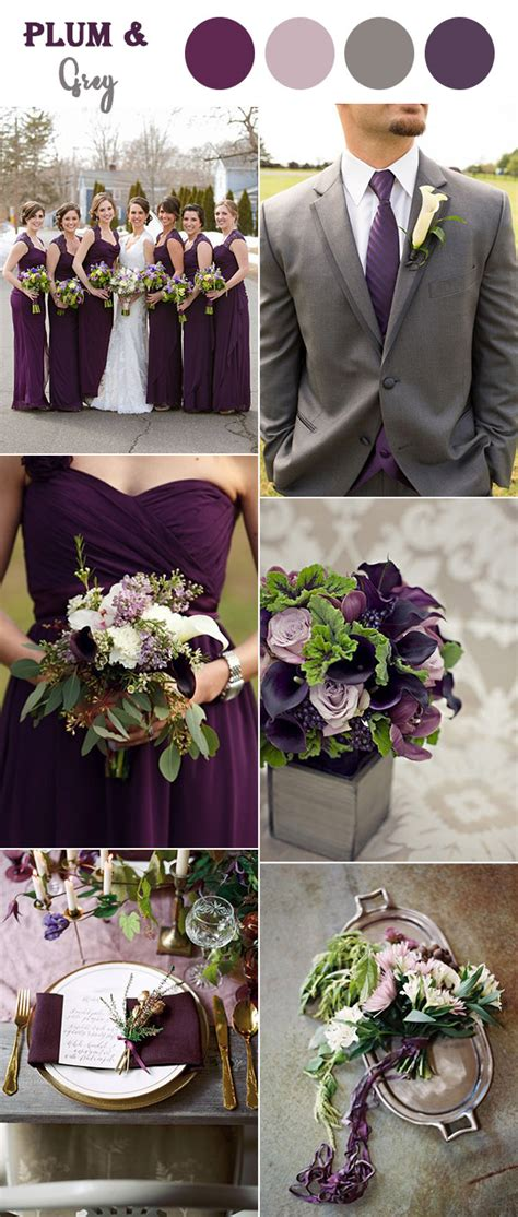 fall colors for weddings 8 fall wedding color combos to in 2017