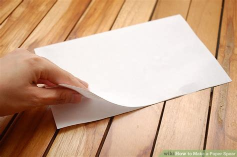How To Make A Spear Out Of Paper - how to make a spear out of paper 28 images how to make
