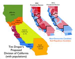 a plan to chop california into six states is gaining