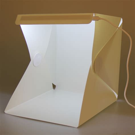 photography lighting kit with backdrop portable light room photo backdrop box with led light mini