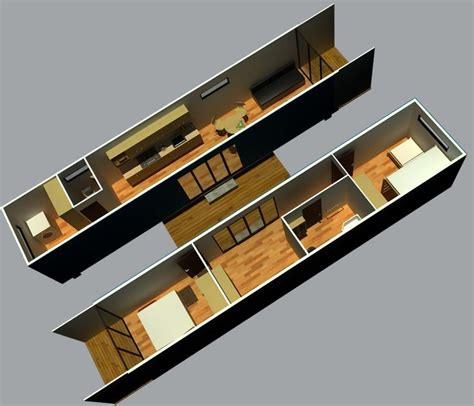 Software To Create Floor Plans 40 foot container home pictures in 20 foot or 40 foot