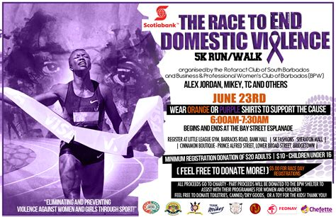 bpw barbados aims to end domestic violence youngbpwinternational