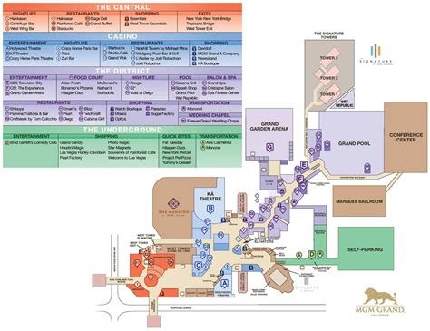 Fitness Gym Floor Plan by Las Vegas Mgm Grand Hotel Map