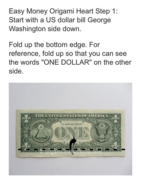 Easy Origami With A Dollar Bill - easy dollar bill origami trusper
