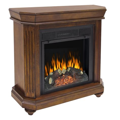 Electric Fireplace Heaters Lowes by Pleasant Hearth Electric Insert Transitional All In One